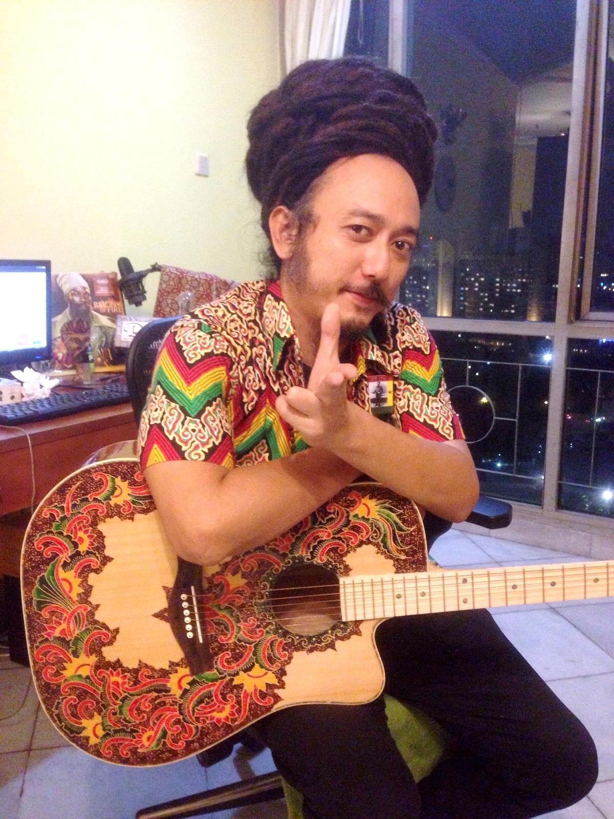 Ras Muhamad - Musician And Reggae Ambassador Of Indonesia